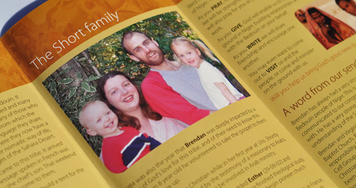 The Short Family brochure