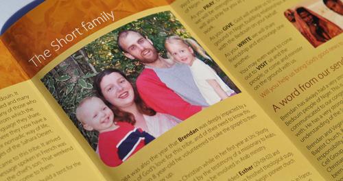 The Short Family brochure
