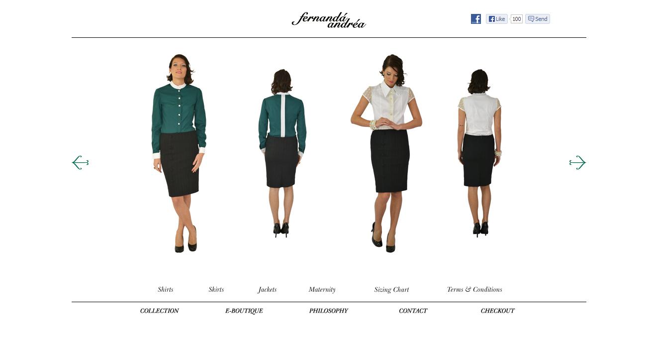 Fernanda Andrea website