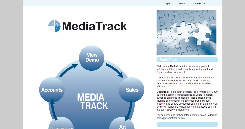 Media Track website