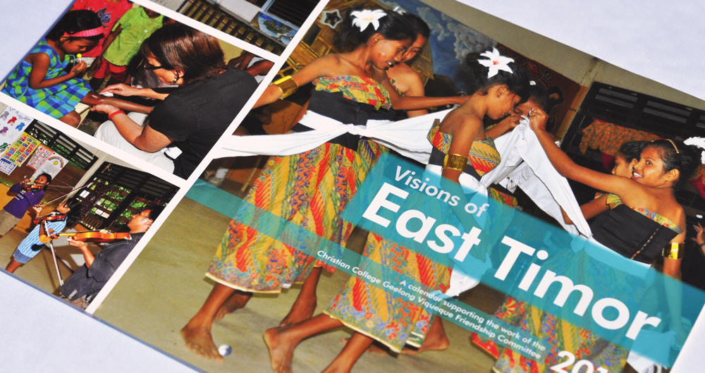 Visions of East Timor calendar