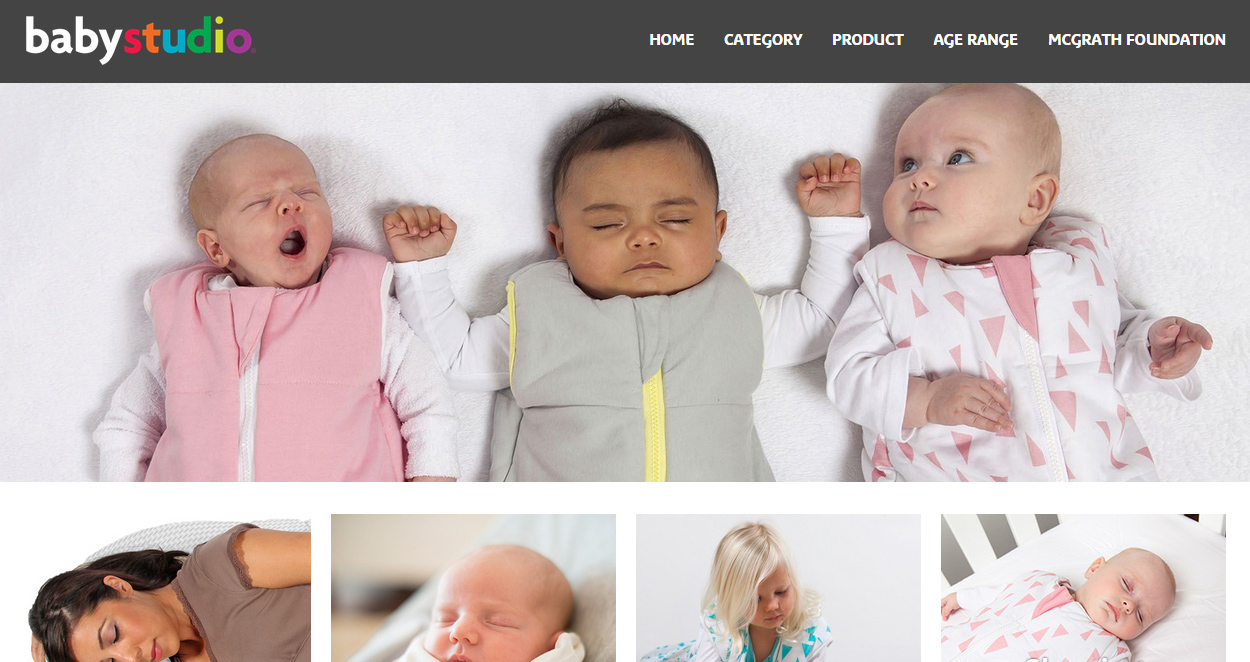 Baby Studio website