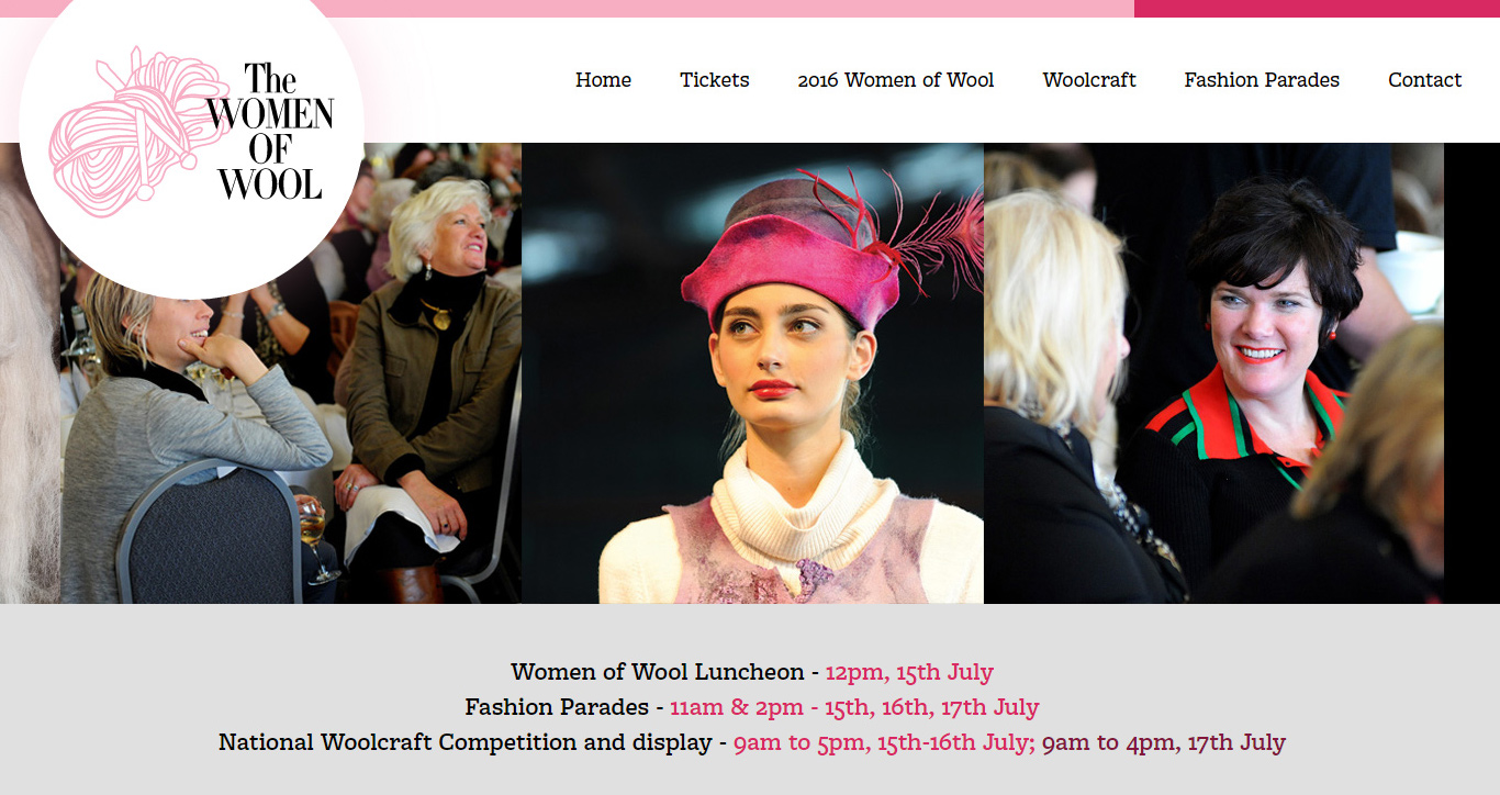 Women of wool website